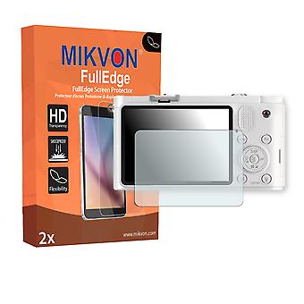 Samsung NX1100 screen protector - Mikvon FullEdge (screen protector with full protection and custom fit for the curved display)