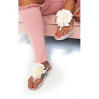 IKRUSH dame Kelly blomst Jelly Flip Flop sandaler