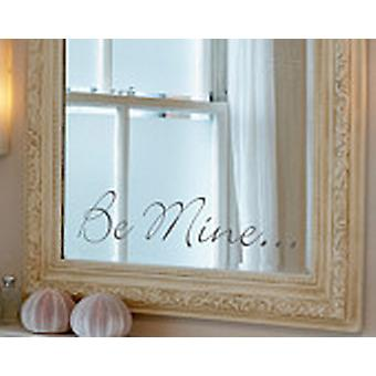 Be Mine, Large Wall Sticker