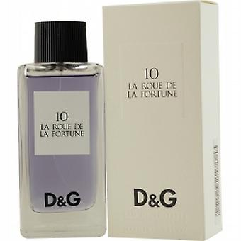 D & G 10 LA ROUE DE LA FORTUNE Edt spray 100 ml