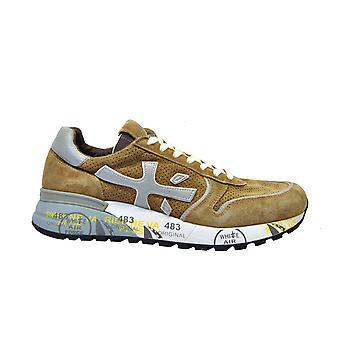 Premiata Brown Suede Sneakers