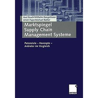 Marktspiegel Supply Chain Management Systeme  Potenziale  Konzepte  Anbieter im Vergleich by Busch & Axel