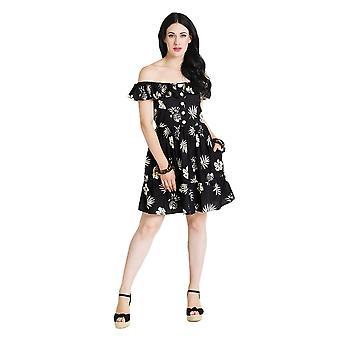 Hell Bunny Pineapple Mini Dress S