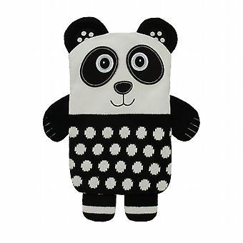 Aroma Home Knitted Snuggle Hottie Body Warmer: Panda