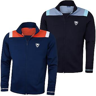 Callaway Mens Colourblock Track Chev Opti-Dri Golf Jacket