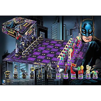 Batman de Dark Knight v de Joker Chess set