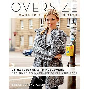 Oversize Fashion Knits - 26 Cardigans and Pullovers Designed to Maximi