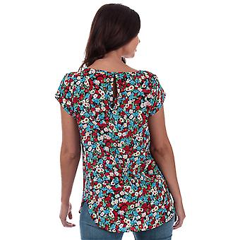 Womens Only Nova Lux Short Sleeve Top In Black
