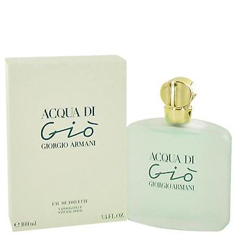 ACQUA DI GIO by Giorgio Armani Eau De Toilette Spray 3.3 oz / 100 ml (Women)