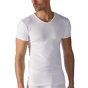 Mey Men 42507-101 Men's Software White Modal Short Sleeve Top
