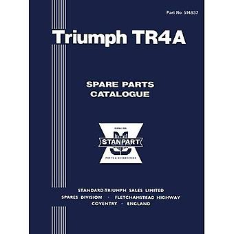 Triumph Tr4A Spare Parts�Catalogue: Part No. 514837