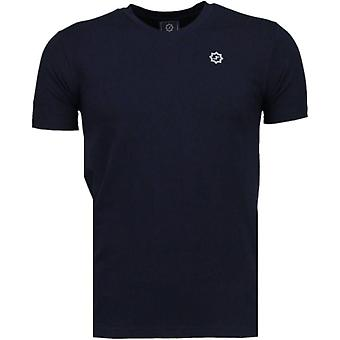 Basic Exclusive-T-Shirt-dark blue