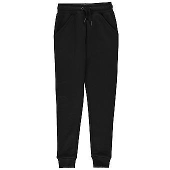 Firetrap Girls Slim Joggers Junior Fleece Tracksuit Bottoms Trousers Pants Kids
