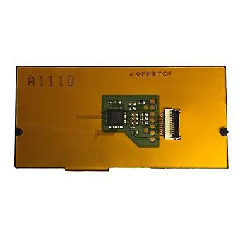 Internal touch pad sensor module including adhesive for sony ps4 controllers