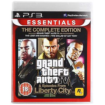 Grand Theft Auto IV Complete Edition PS3 Game