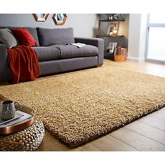 Veloce Gold  Rectangle Rugs Plain/Nearly Plain Rugs