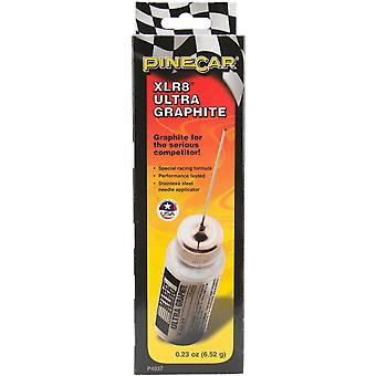 Pine Car Derby Xlr8 Ultra Graphite .23 Ounces P4037