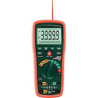 Handheld multimeter digital Extech EX570 IR thermometer CAT III 1000 V, CAT IV 600 V Display (counts): 40000
