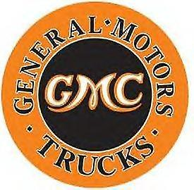 GMC Trucks Metal Sign 300mm diameter (de)