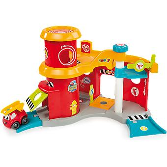 Smoby Fire station (Jouets , Maternelle , Véhicules)