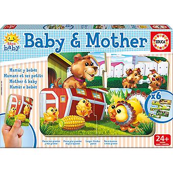 Educa Puzzle Baby And Mother (Toys , Preschool , Puzzles And Blocs)