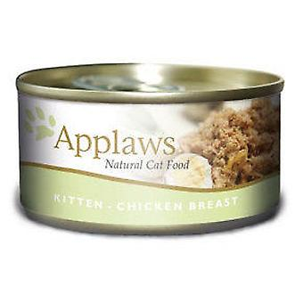 Applaws Conserve De Poulet (Chats , Nourriture , Pate)