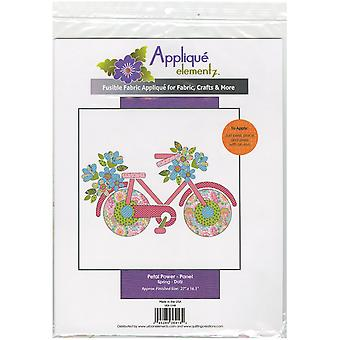 Urban Elementz Fusible Applique-Petal Power - Spring UEA1148
