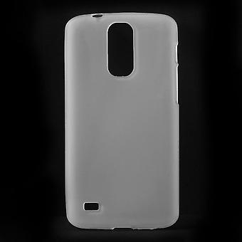 TPU rubber stuurman cover voor Huawei Ascend Ascend A199 G710 (wit)