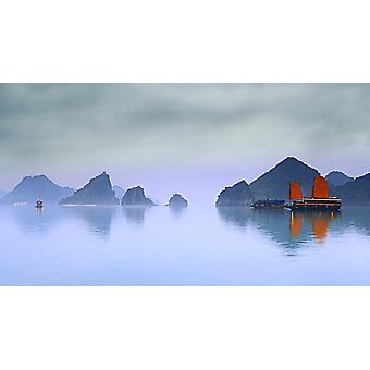 Bahía de Halong de Vietnam PosterPrint