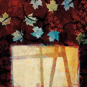 Building Bridges Poster Print by Valerie Willson
