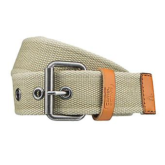 Camel active belts men's belts Stofgürtel Grün 4265