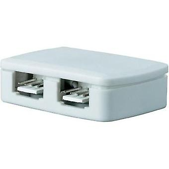 Paulmann Decorative Lighting YourLED junction box, 4-way distribution, white 70203 LED White
