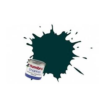 Pintura de esmalte de Humbrol 14ML No 239 British Racing Green - lustre