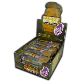 Grenade - Grenade Reload Protein Flapjacks, Fused Fruit - 12 Bars