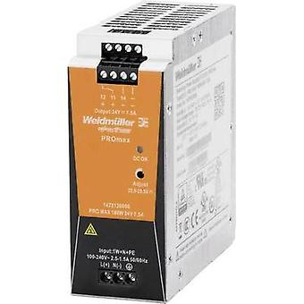 Rail mounted PSU (DIN) Weidmüller PRO MAX 180W 24V 7,5A 24 V 7.5 A 180 W