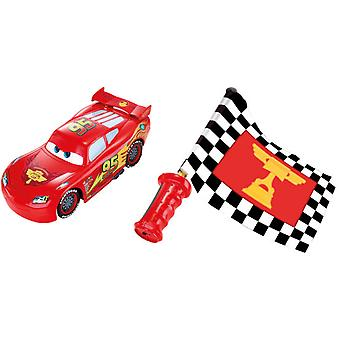 Mattel Cars-Mc Queen Flag Rc (Toys , Vehicles And Tracks , Radiocontrol , Land)