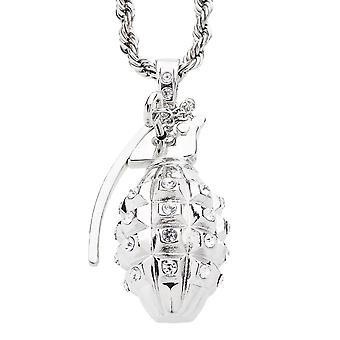 Iced out bling hip hop chain - GRENADE