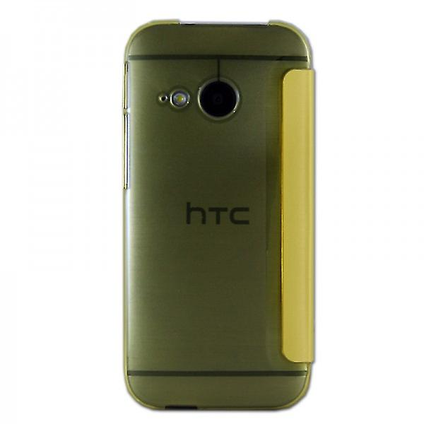 Smart Cover Window Yellow for HTC One Mini 2 2014