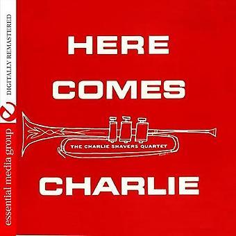 Charlie Shavers - hier komt Charlie [CD] USA importeren