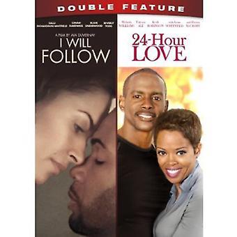 Jeg vil følge/24-timers kærlighed [DVD] USA importerer