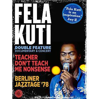 Fela Kuti - Teacher Don't Teach Me Nonsense/Berliner Jazztage [DVD] USA import