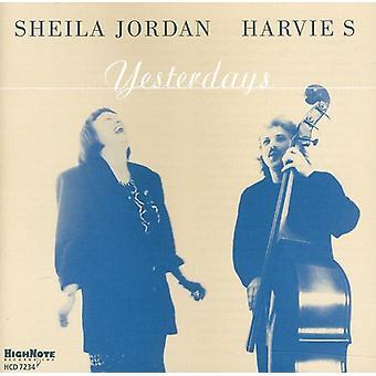 Sheila Jordan - gårsdagens [CD] USA import