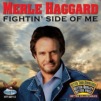 Merle Haggard - Fightin ' lado de importación de Estados Unidos Me [CD]