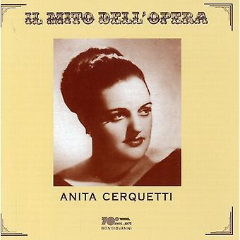 Anita Cerquetti - Il Mito Dell'Opera: Anita Cerquetti [CD] USA import