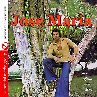 Jose Maria - From Spain with Love [CD] USA import