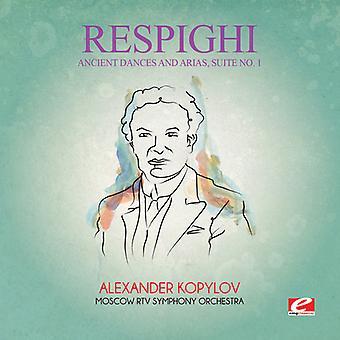 Respighi - importación de antiguas danzas y Arias Suite 1 [CD] Estados Unidos