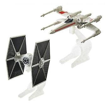 Hot Wheels Hw Pack 2 Naves Star Wars