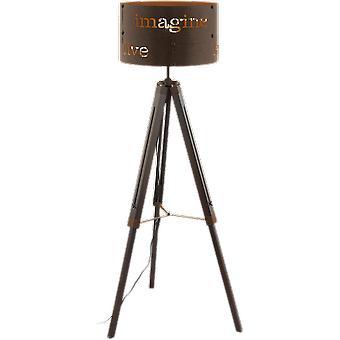 Eglo COLDINGHAM Industrial Tripod Floor Lamp