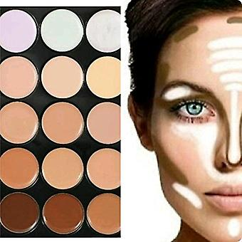 Boolavard®/™ modische Concealer Creme Camouflage Palette / Cover Make-up in 15 Farben