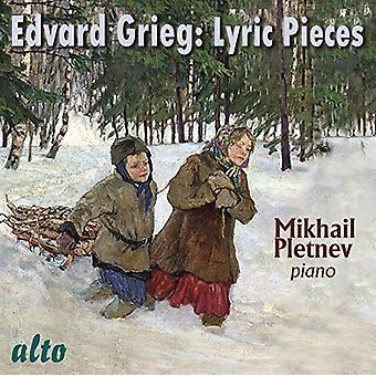Mikhail Pletnev - Grieg: Lyric Pieces [CD] USA import